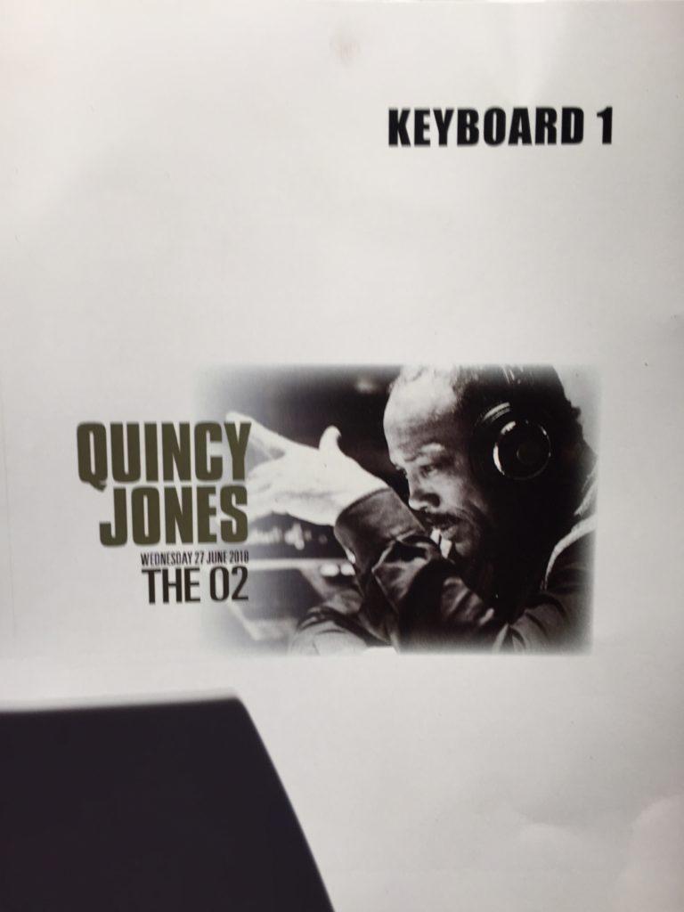 Quincy Jones Gig