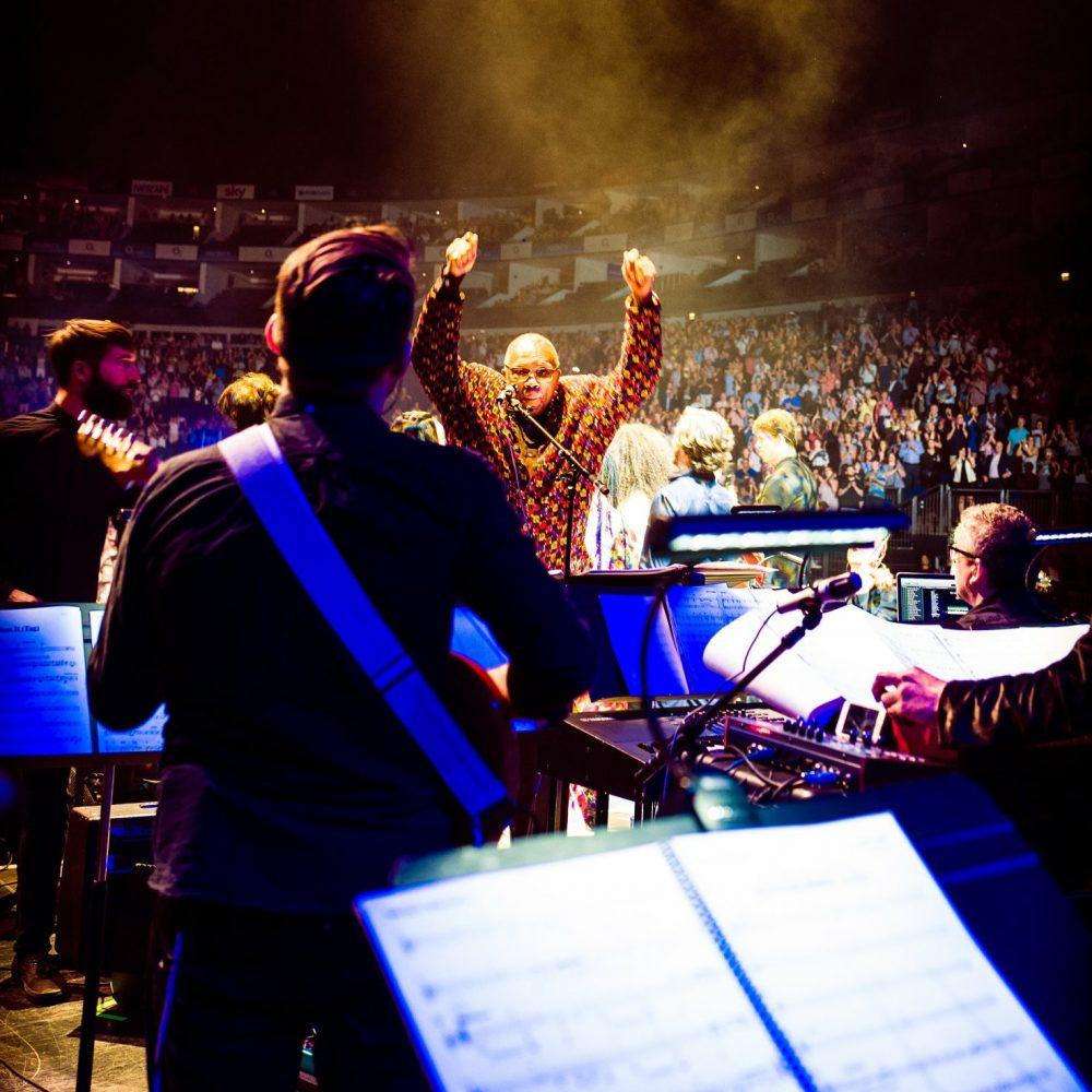 Quincy Jones gig O2 2018