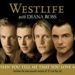 West life with Diana Ross - When You Tell Me That You Love Me